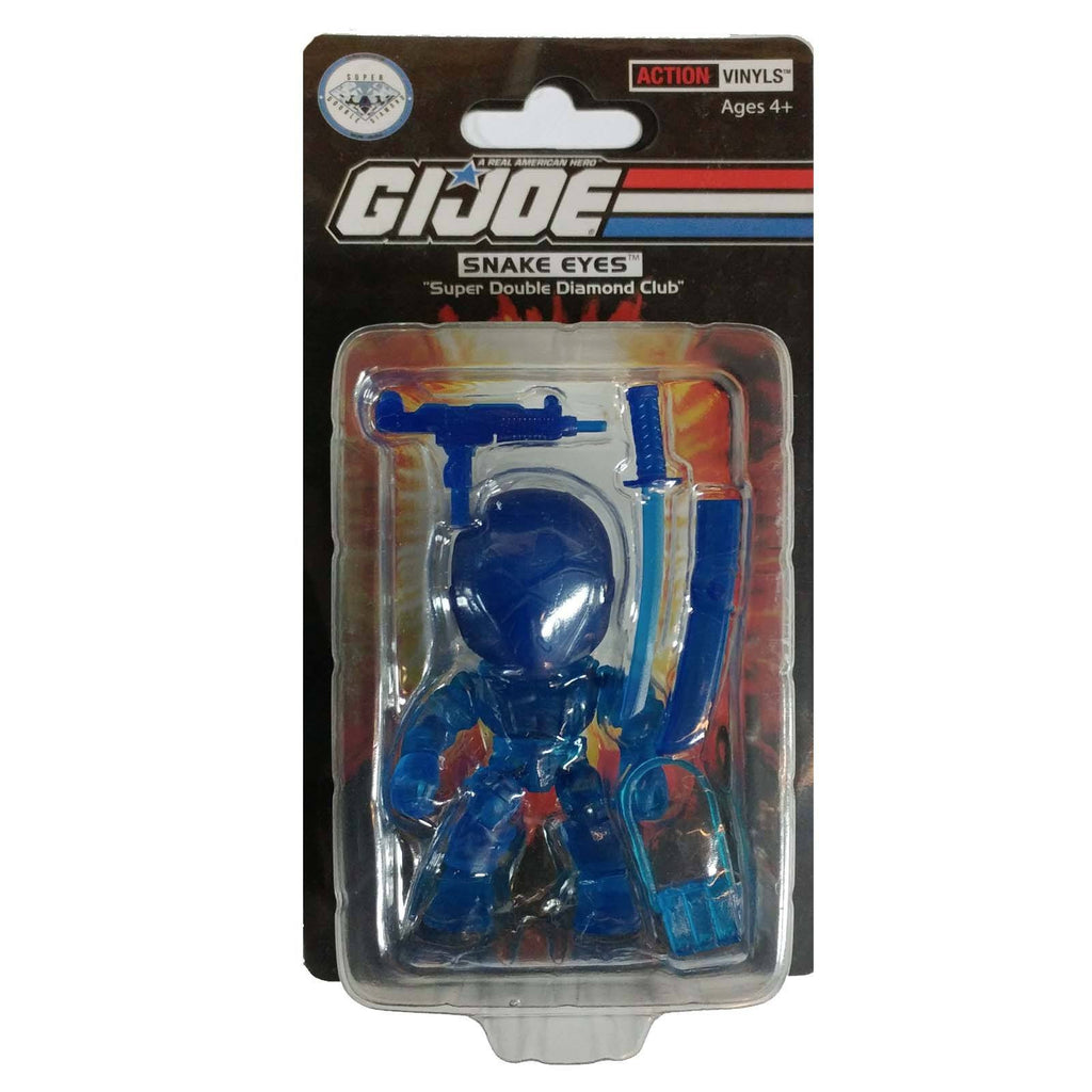 Loyal Subjects SDDC G.I. Joe Snake Eyes Blue Action Figure