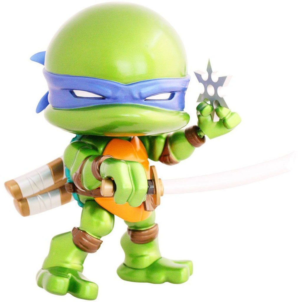 Loyal Subjects Teenage Mutant Ninja Turtles Jumbo Metallic Leonardo Action Figure