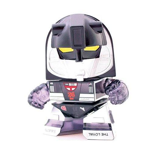 Loyal Subjects Transformers Exclusive Transparent Black Mirage Figure