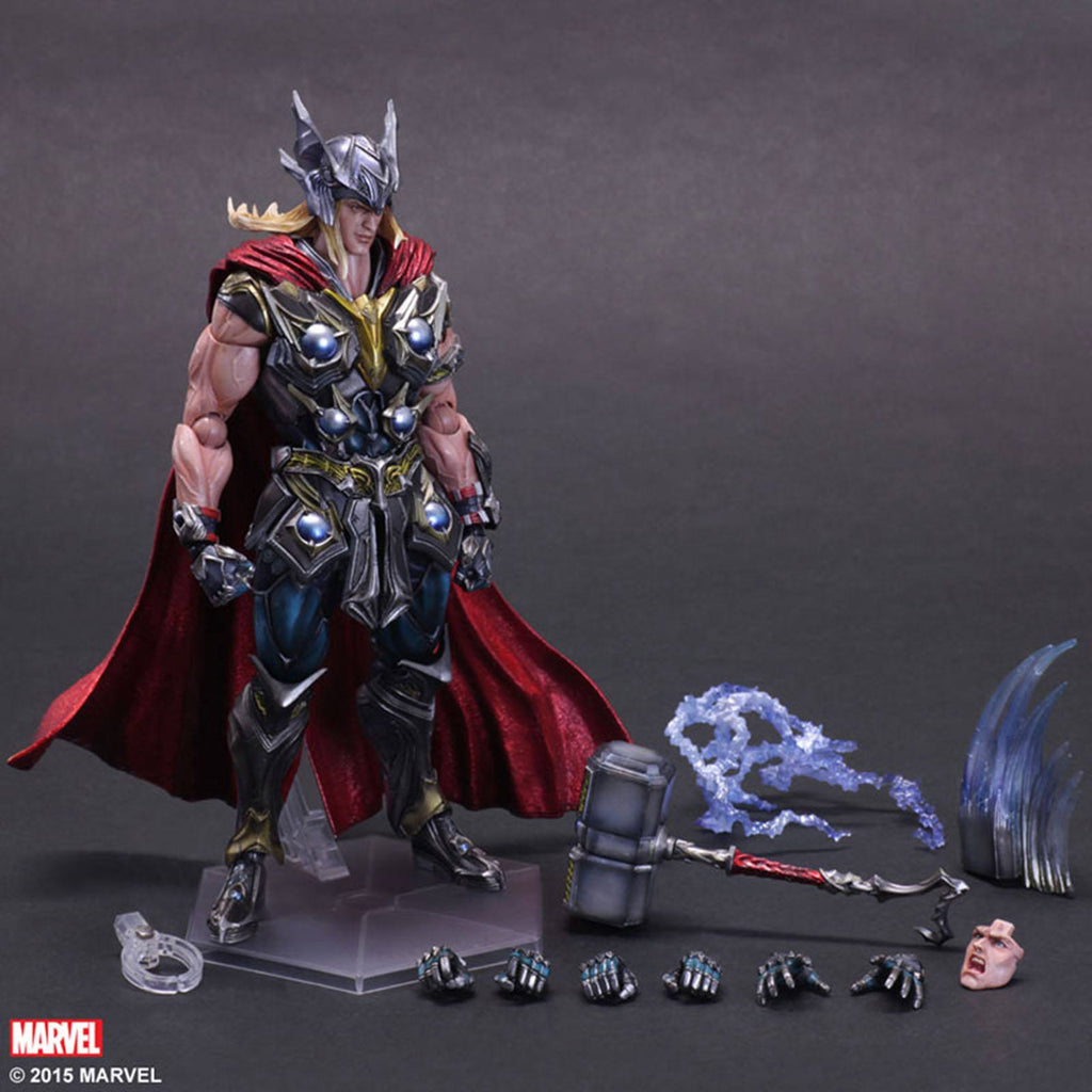 Marvel Universe Variant Thor Play Arts Kai Action Figure
