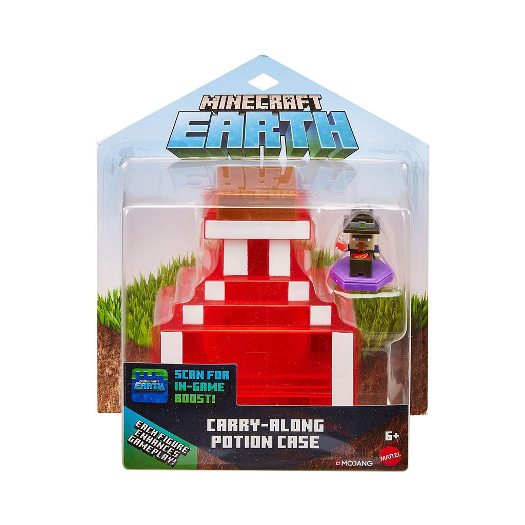 Minecraft Earth Carry Along Potion Case Set