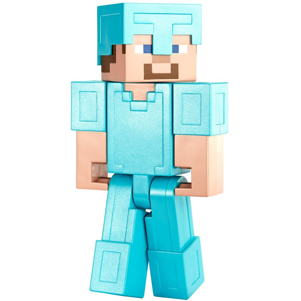Minecraft Steve In Diamond Armor 8 Inch Figure