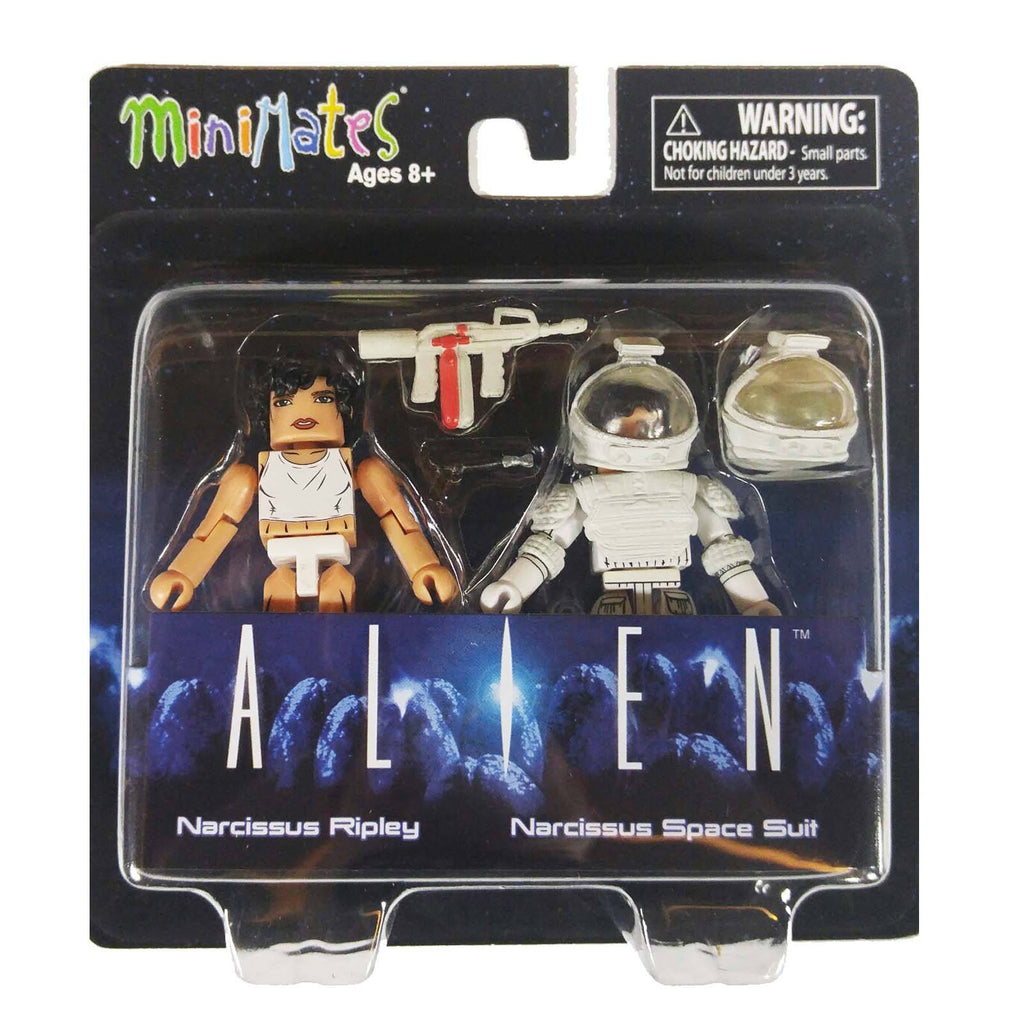 Minimates Alien Series 3 Narcissus Ripley And Space Suit Figure Set
