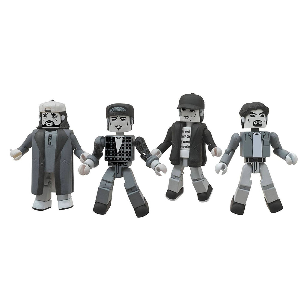 Minimates Clerks 20th Anniversary Black And White Box Set - Radar Toys