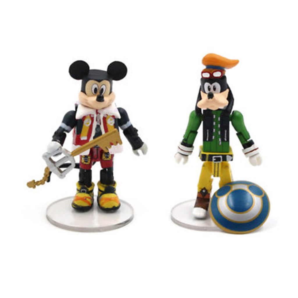 Minimates Disney Kingdom Hearts Mickey Mouse Goofy Figure Set