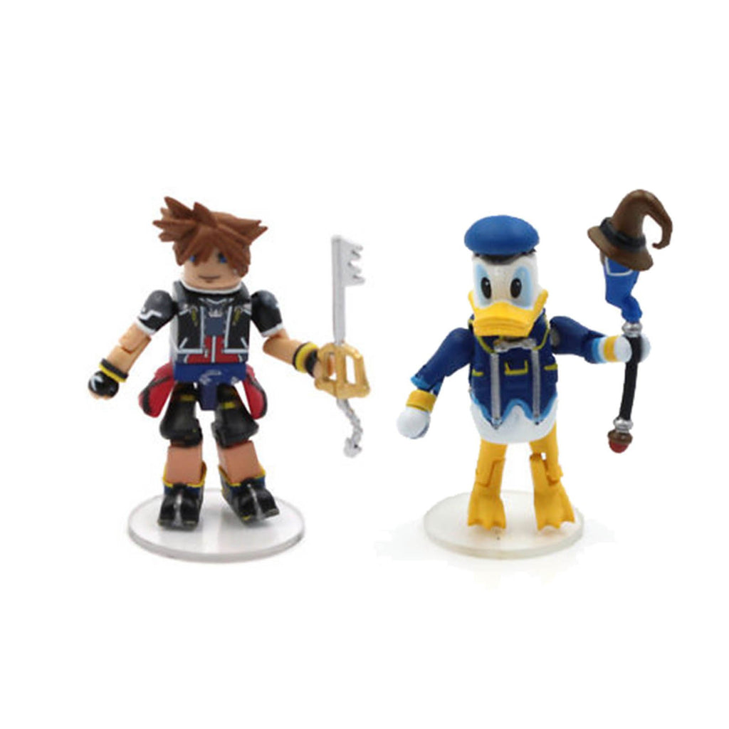 Minimates Disney Kingdom Hearts Sora Donald Duck Figure Set