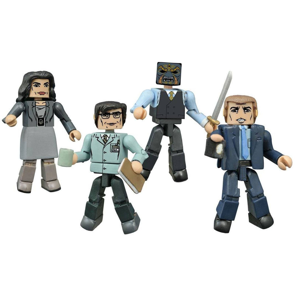 Minimates Gotham Before The Legend Set 1 Box Set - Radar Toys