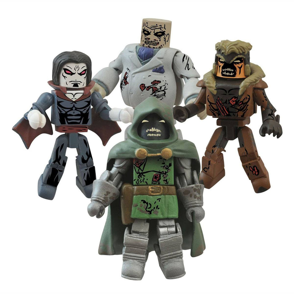 Minimates Marvel Villain Zombies Series 2 Box Set