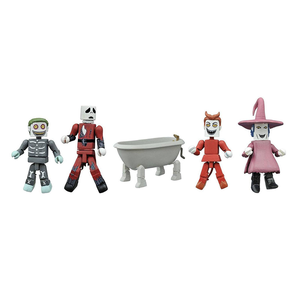 Minimates Nightmare Before Christmas Exclusive Figure Set