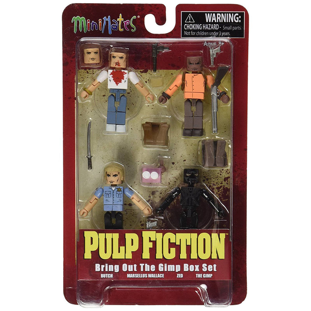 Minimates Pulp Fiction Bring Out The Gimp Figure Set