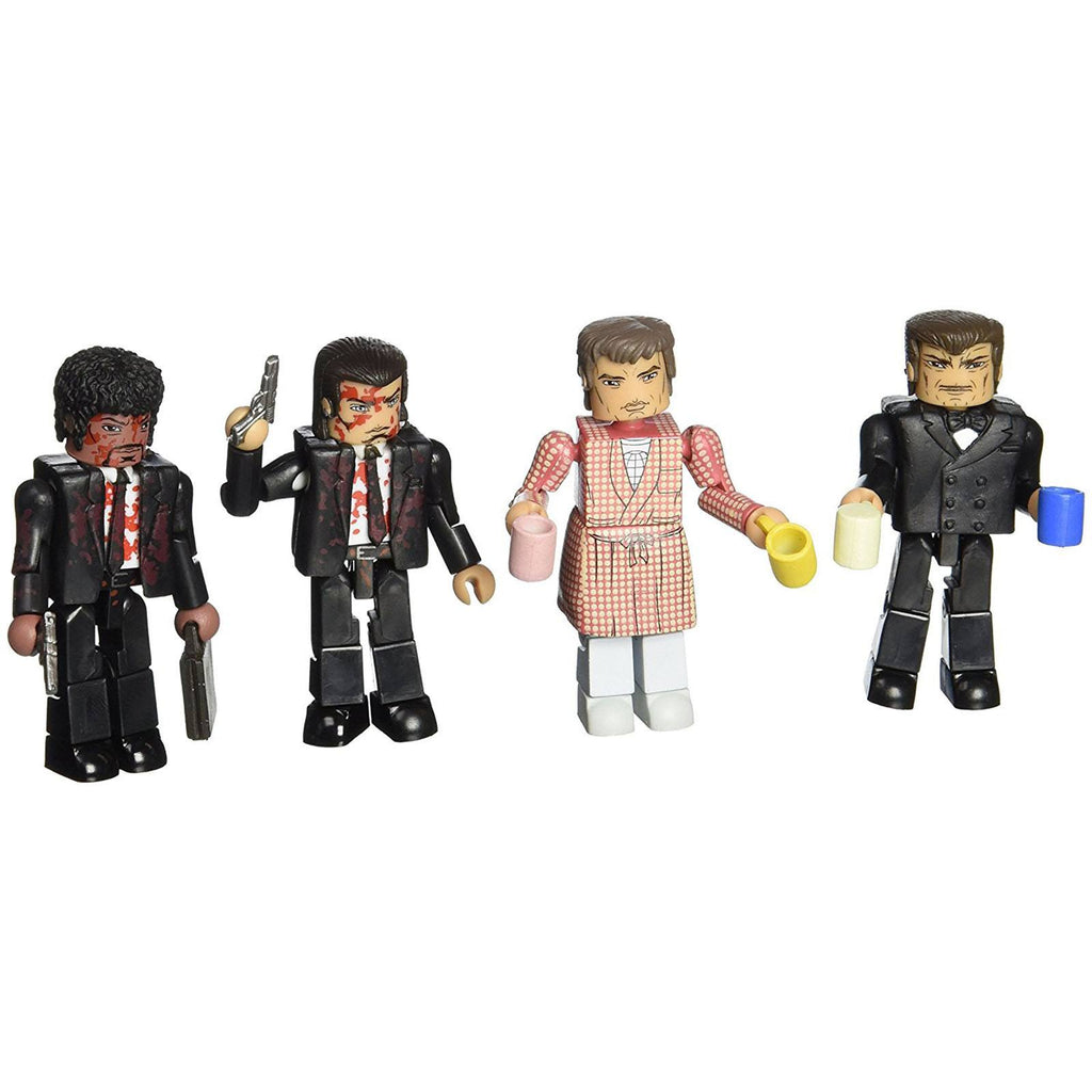 Minimates Pulp Fiction The Bonnie Situation Figure Set