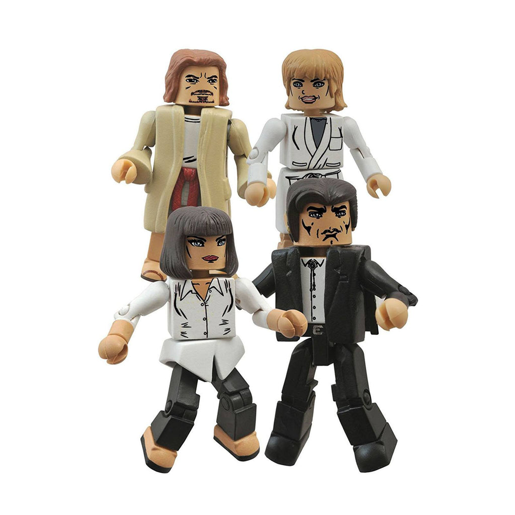 Minimates Pulp Fiction Vincent and Mia's Night Out Figure Set