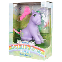 Action Figures - My Little Pony Classic Earth Ponies Collection Seashell Figure