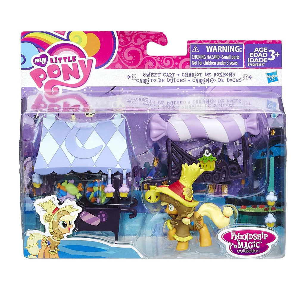 Action Figures - My Little Pony Friendship Magic Sweet Cart Figure Set