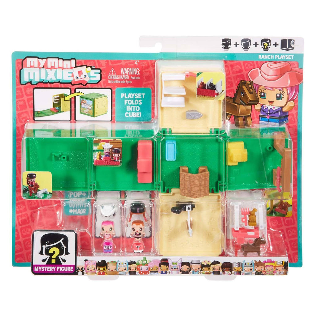 Action Figures - My Mini MixieQ's Ranch Playset