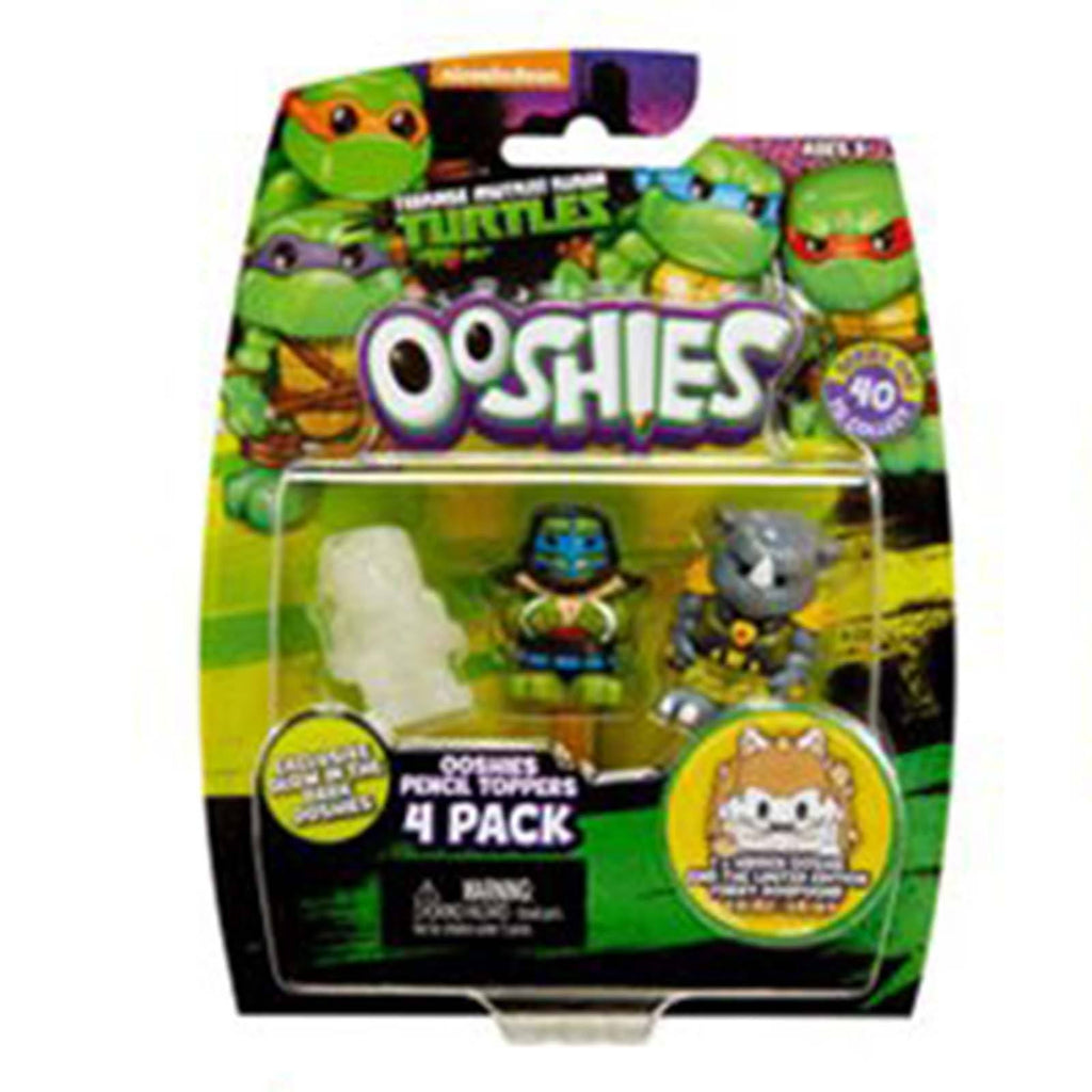 Ooshies Teenage Mutant Ninja Turtles Series 1 Leo 4 Figure Set
