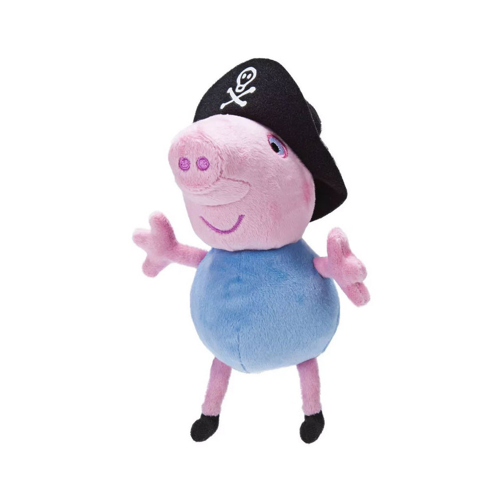 Action Figures - Peppa Pig George The Pirate 6 Inch Plush Figure