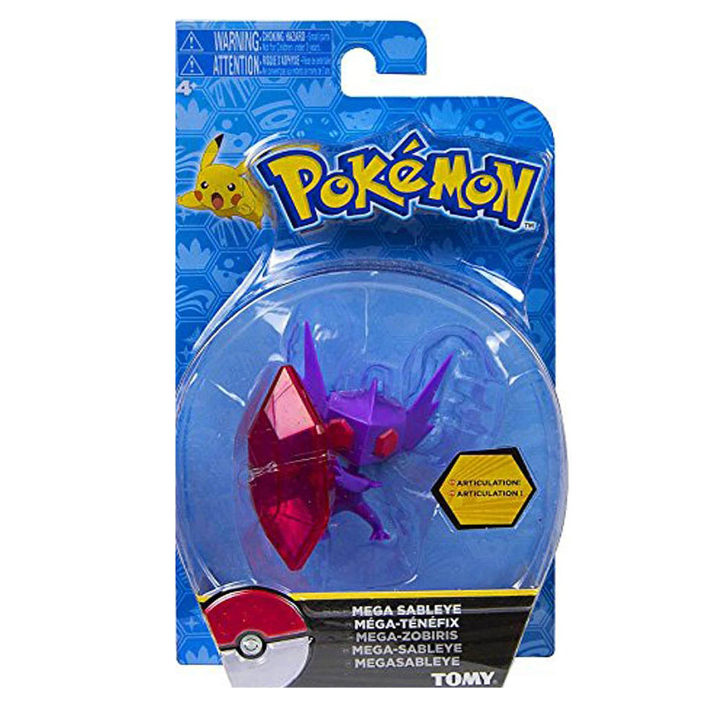 Pokemon Mega Sableye 3 inch Action Figure