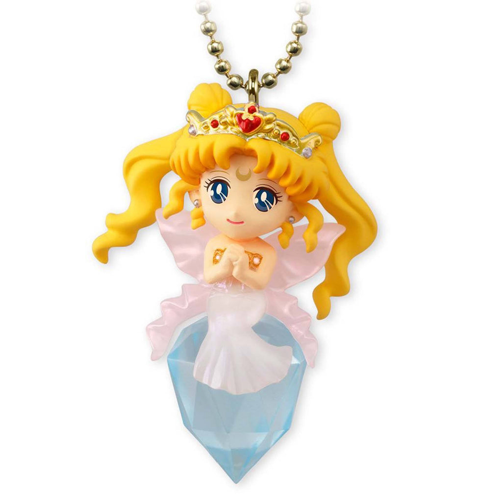 Action Figures - Sailor Moon Twinkle Dolly Volume 4 Queen Serenity And Phantom Silver Crystal Charm