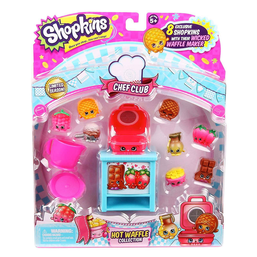 Shopkins Chef Club Hot Waffle Figure Collection