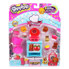 Action Figures - Shopkins Chef Club Hot Waffle Figure Collection