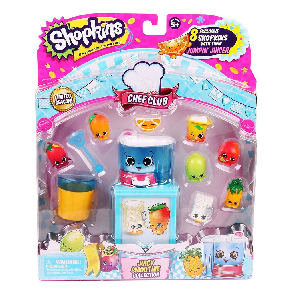 Shopkins Chef Club Juicy Smoothie Figure Collection