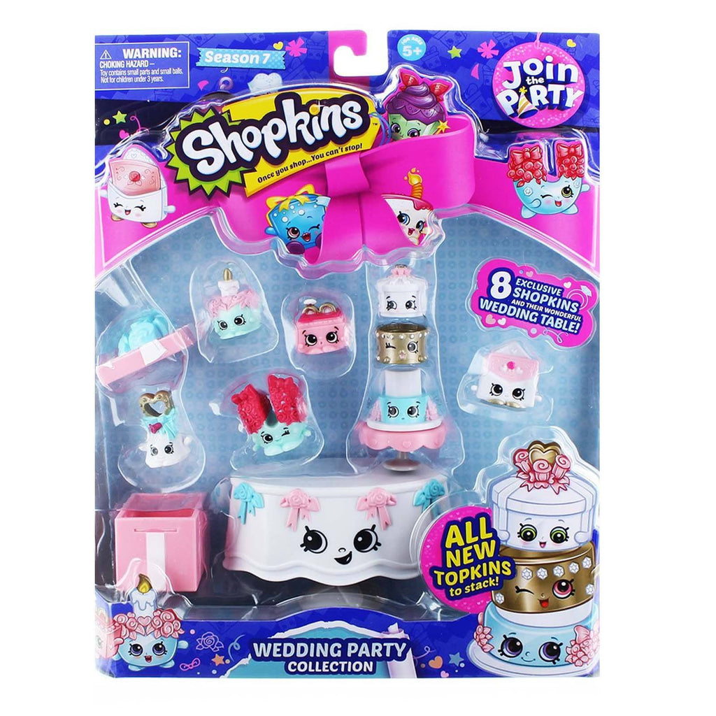 Shopkins Season 7 Join The Party Wedding Party Figure Collection
