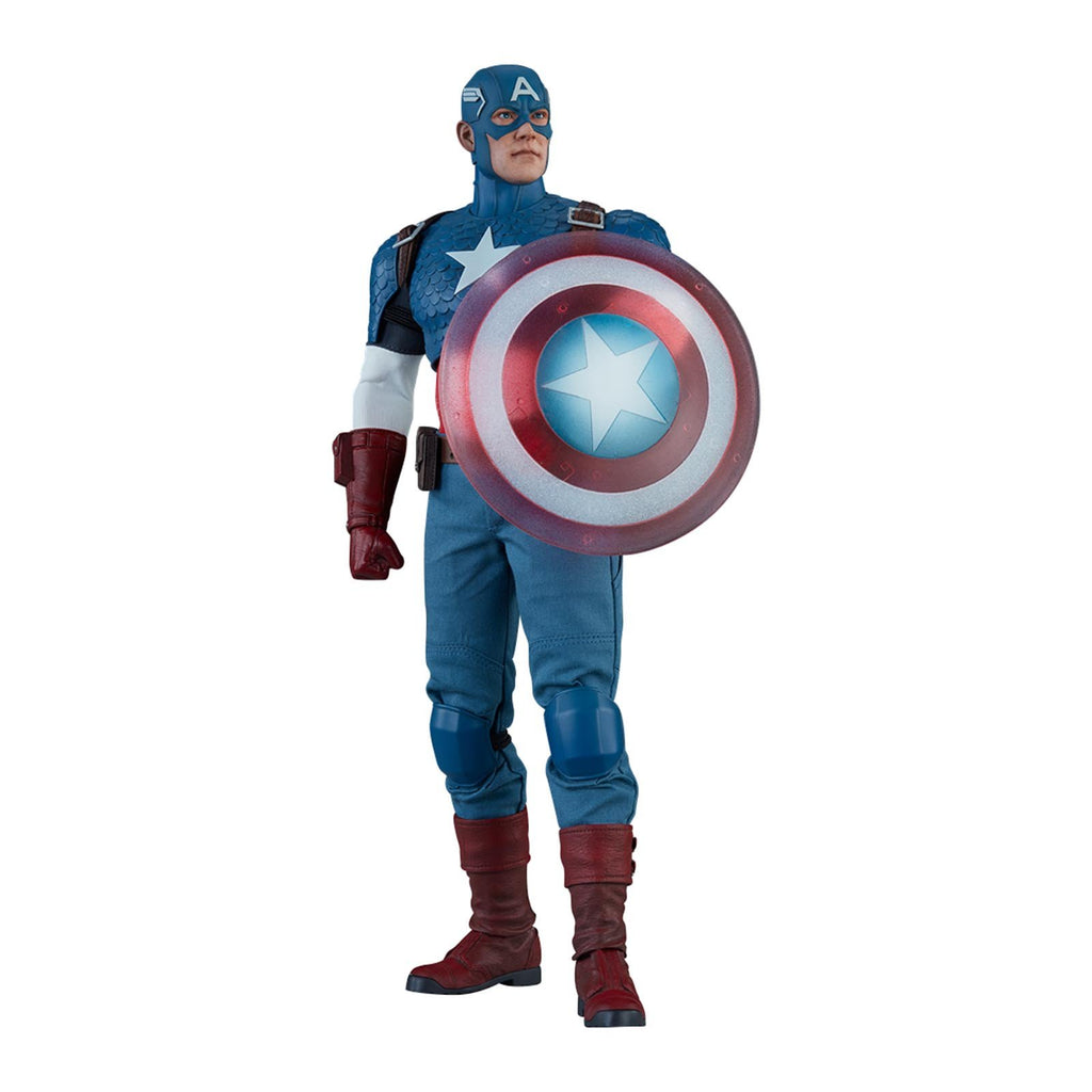 Sideshow Marvel Captain America 12 Inch Action Figure