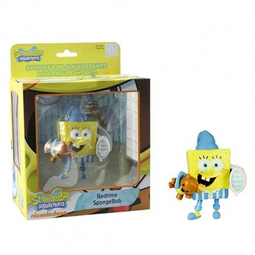 SpongeBob SquarePants Mini Figure World Series 2 Bedtime SpongeBob