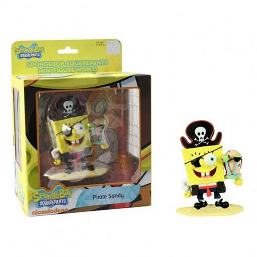 SpongeBob SquarePants Mini Figure World Series 2 SpongeBob Pirate