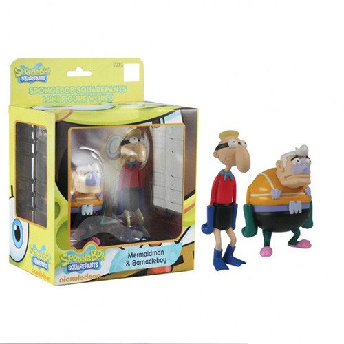 SpongeBob SquarePants Mini Figure World Series 3 Mermaidman And Barnacleboy