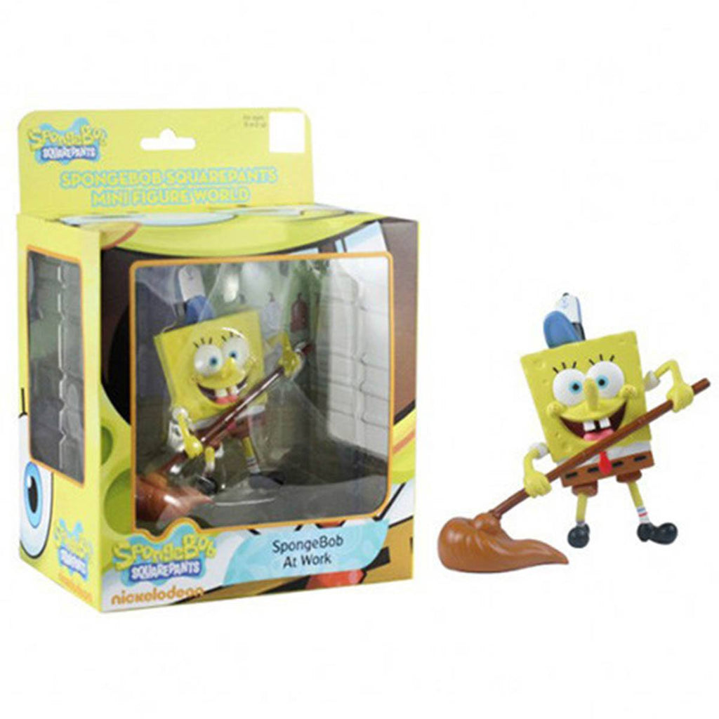 SpongeBob SquarePants Mini Figure World Series 3 SpongeBob At Work
