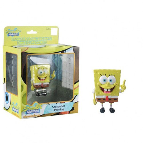 SpongeBob SquarePants Mini Figure World Series 3 SpongeBob Pointing