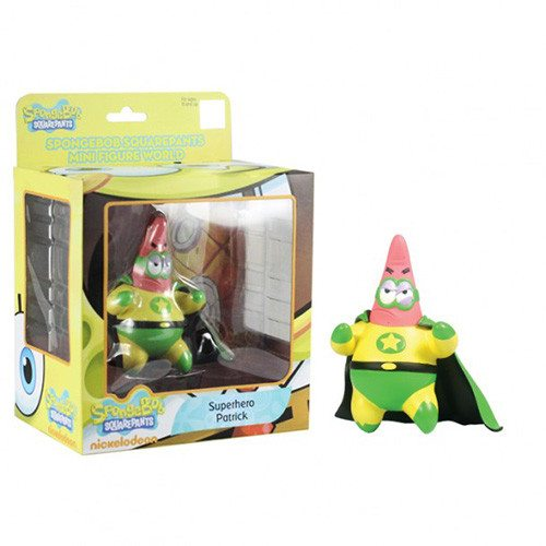 SpongeBob SquarePants Mini Figure World Series 3 Superhero Patrick