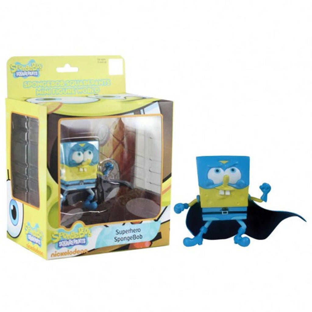 SpongeBob SquarePants Mini Figure World Series 3 Superhero SpongeBob