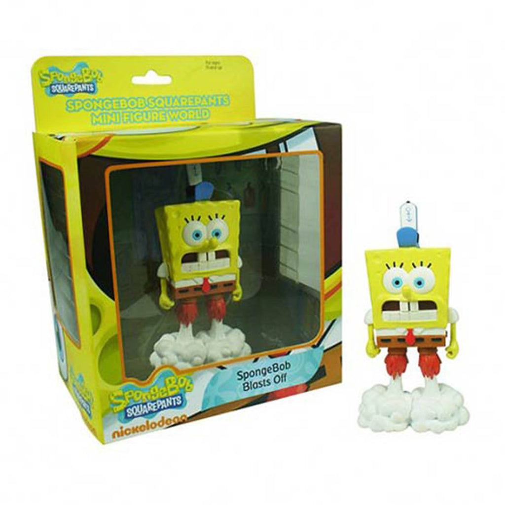 SpongeBob SquarePants World Series 1 Blasts Off Mini Figure - Radar Toys
