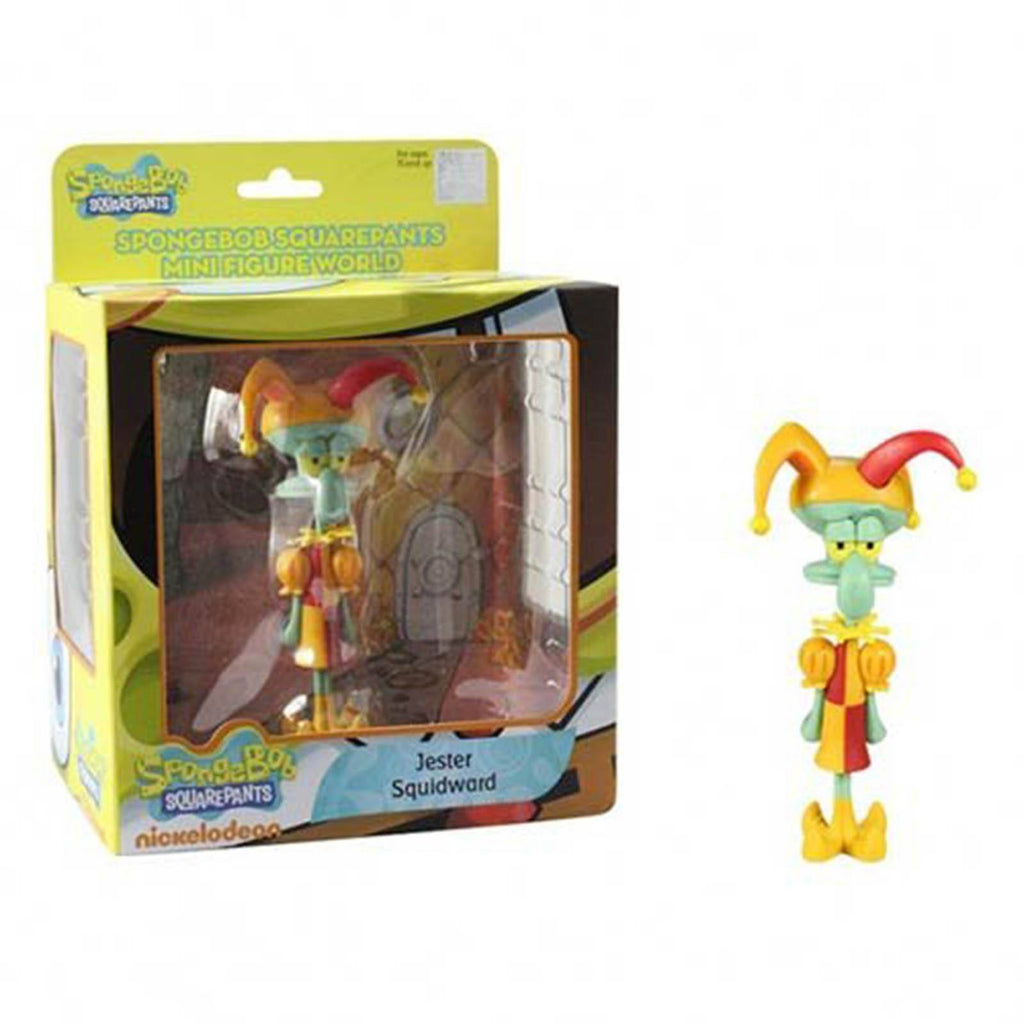 SpongeBob SquarePants World Series 1 Jester Squidward Mini Figure