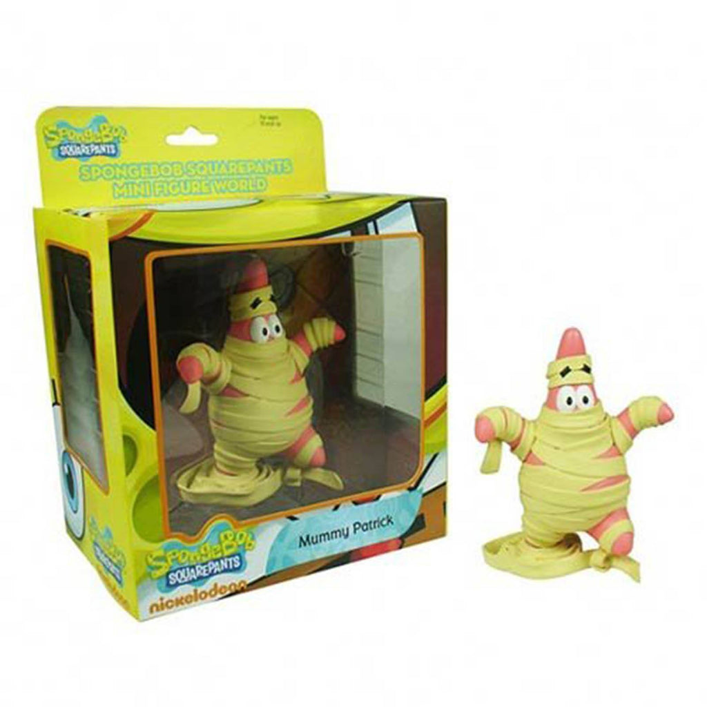 SpongeBob SquarePants World Series 1 Mummy Patrick Mini Figure