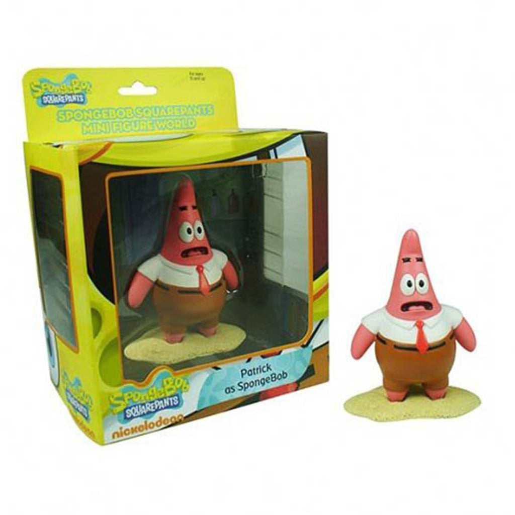 SpongeBob SquarePants World Series 1 Patrick As Spongebob Mini Figure