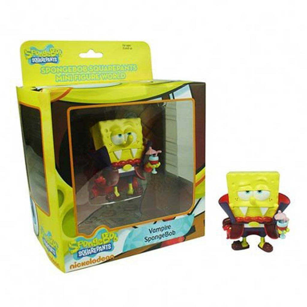 SpongeBob SquarePants World Series 1 Vampire SpongeBob Mini Figure - Radar Toys