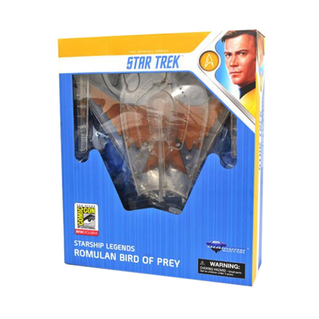 Star Trek Starship Legends SDDC 2018 Exclusive Romulan Bird Of Prey