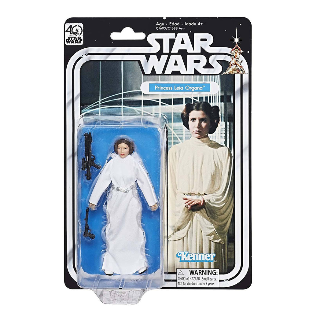 Star Wars Black Series 40th Anniversary Princess Leia 6 Inch Action Figure