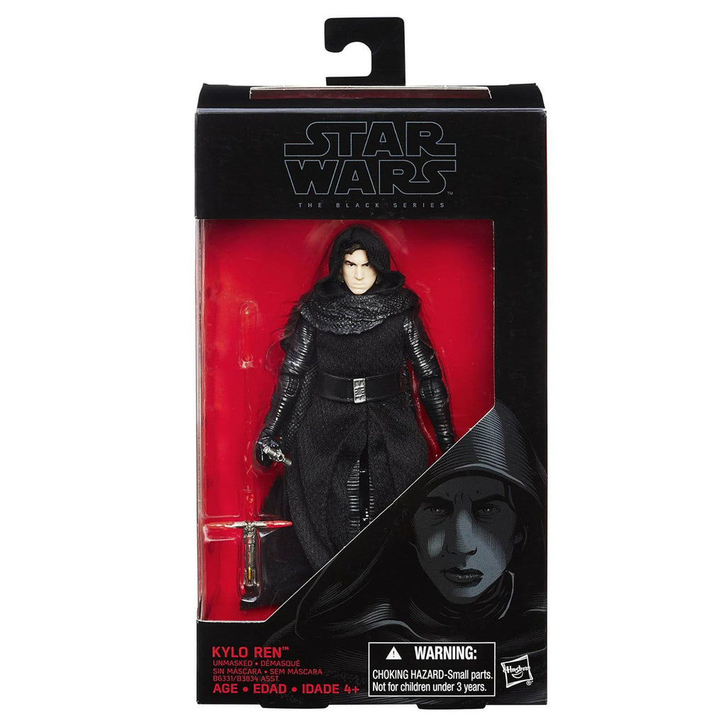 Star Wars Black Series Kylo Ren Unmasked Action Figure