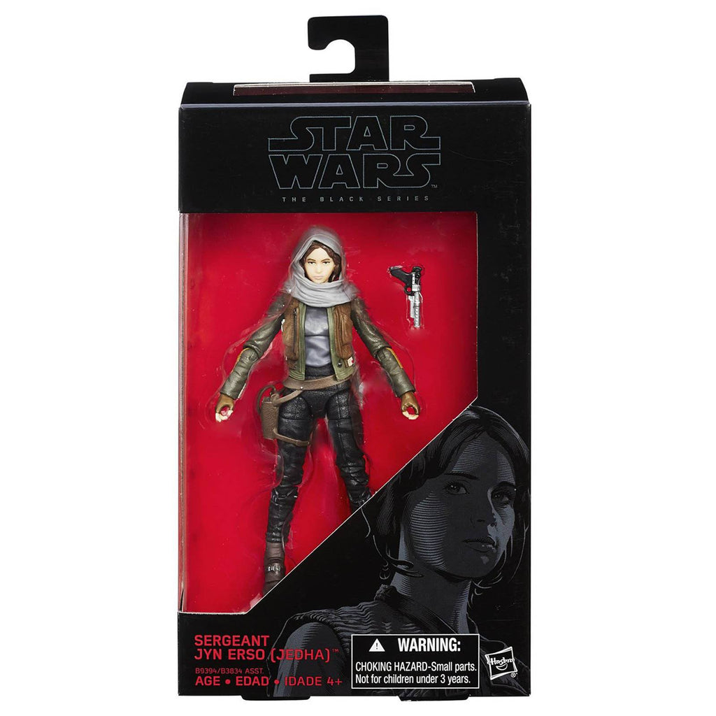 Star Wars Black Series Sergeant Jyn Erso Action Figure