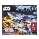 Action Figures - Star Wars Nerf Rogue One Rebel U-Wing Fighter Ship