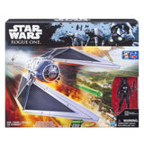 Action Figures - Star Wars Nerf Rogue One Tie Striker Fighter Ship