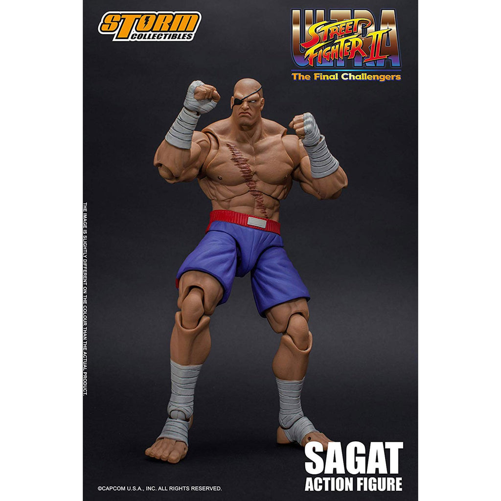 Storm Collectibles Street Fighter II Sagat 1:12 Scale Action Figure