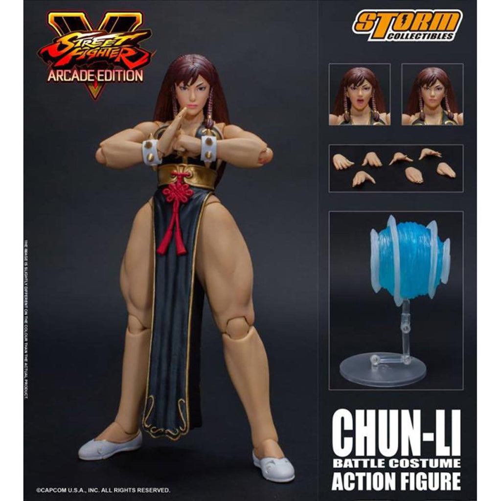 Storm Collectibles Street Fighter V Arcade Exclusive Chun-Li Hot Figure