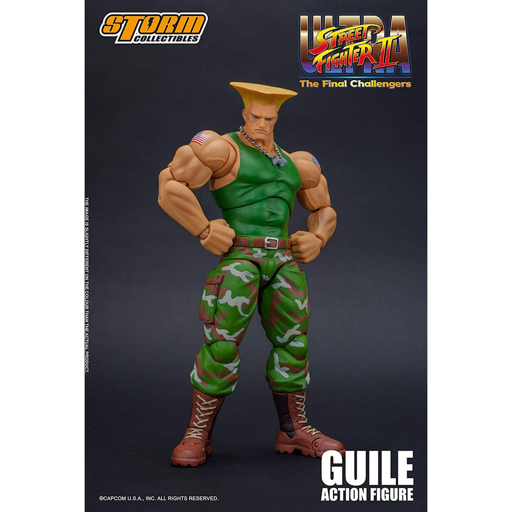 Storm Collectibles Ultra Street Fighter II Guile 7 Inch Action Figure