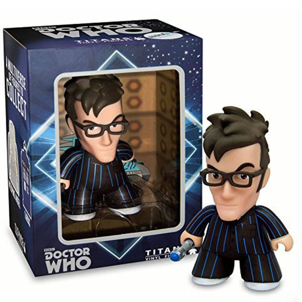 Titan Doctor Who 10th Doctor With Glasses Vinyl Figure - Radar Toys
